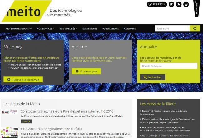 Bonne note au classement du Journal des Entreprises pour le site La Meito réalisé par Alkante
