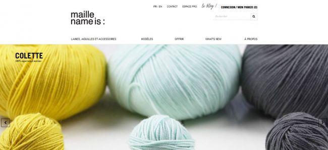 Nouveau site Alkante en ligne : Maille name is
