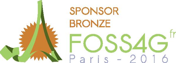 Alkante sponsorise le  FOSS4G-fr 2016 : la rencontre des utilisateurs de logiciels libres dédiés à la géomatique !