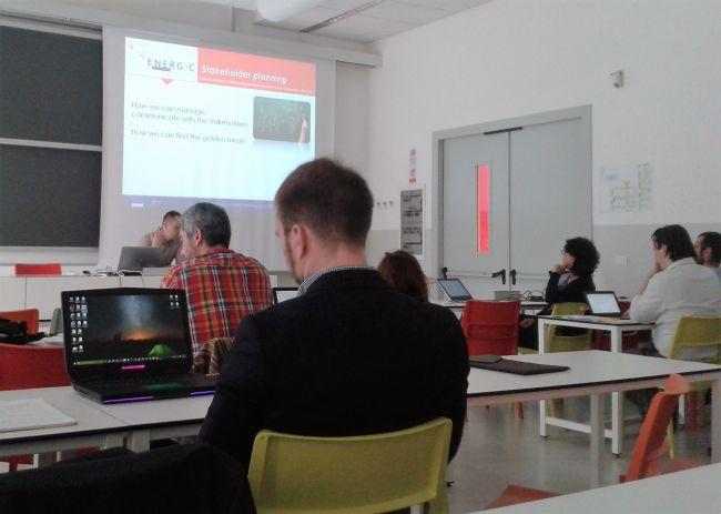 Alkante était présent au meeting project de Lecco : la rencontre annuelle des participants au projet Energic OD