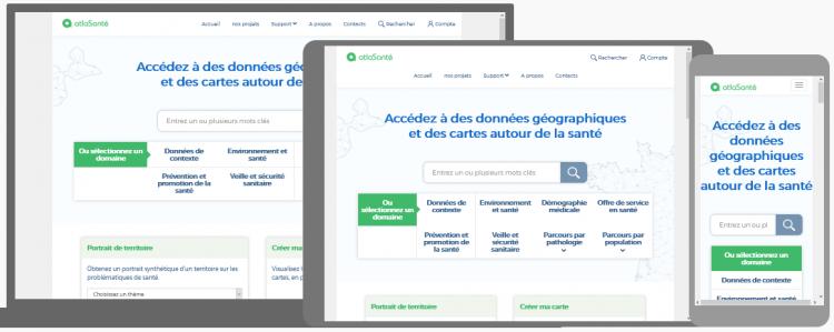 Le nouveau site Atlasanté est en ligne !