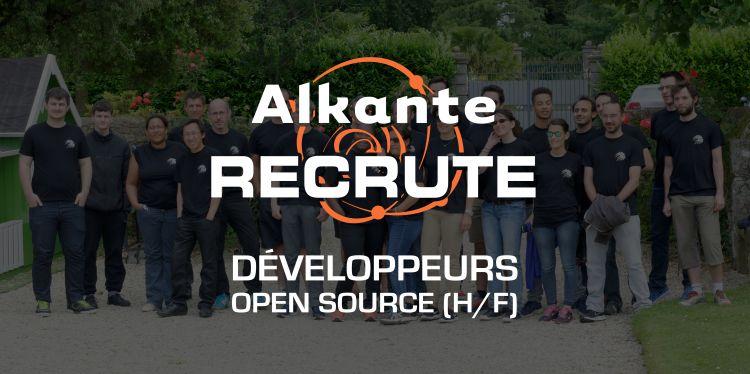 Nous recherchons des Développeurs Open Source
