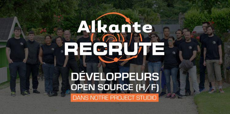 Nous recrutons des Développeurs Open-Source pour notre Project Studio