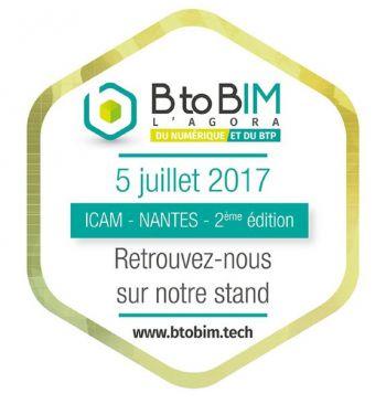 Aliotys sera  présent sur le salon B to Bim à Nantes le mercredi 5 juillet !